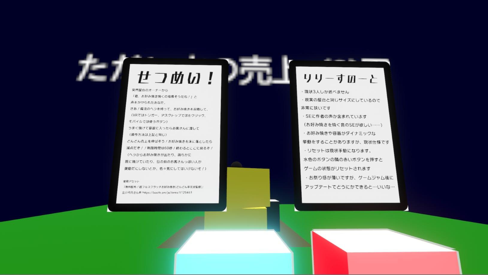 お好み焼き屋台は大忙し!(α)